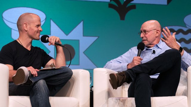 Featured Session: Michael Pollan and Tim Ferris – SXSW 2019 – Photo by Katie Marriner