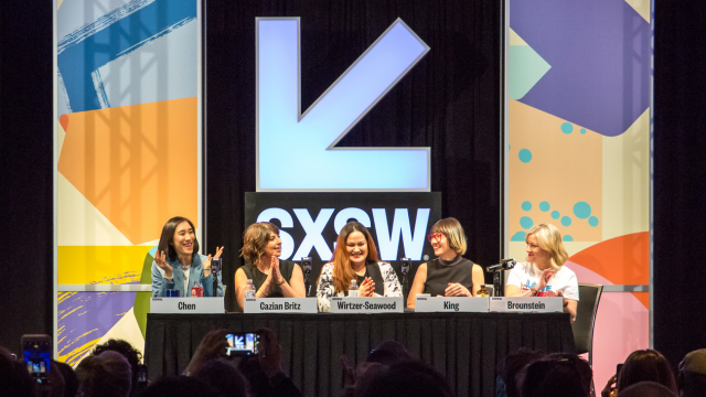 SXSW 2017 panel – Insider Tips from the Boss Women of Instagram – Photo by Jessica Stamp