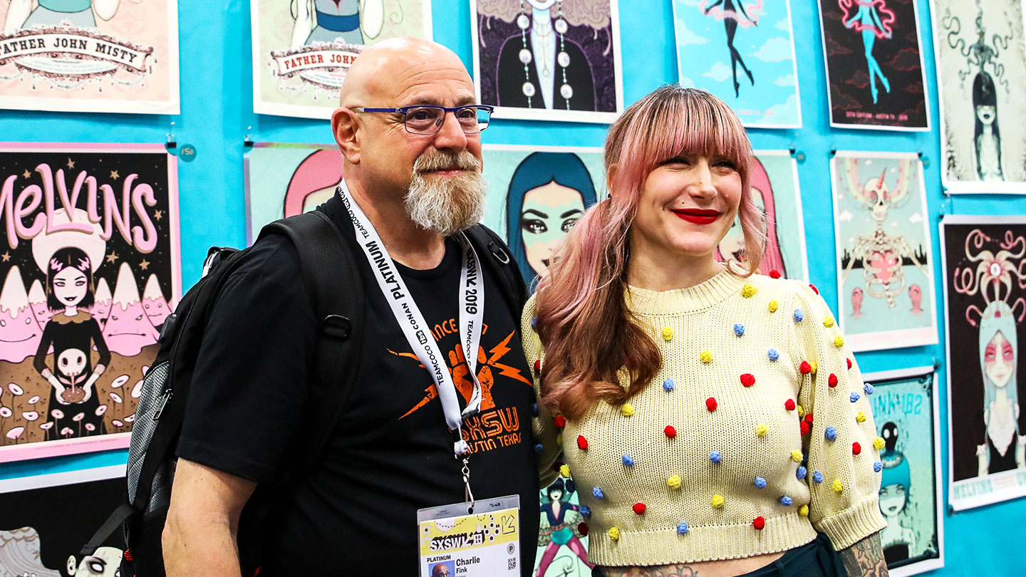 Flatstock 69 at SXSW 2019 – Photo by Randy and Jackie Smith