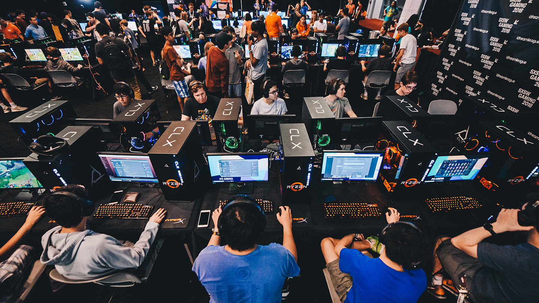 2018 SXSW Gaming PC Arena - Photo by Judy Won